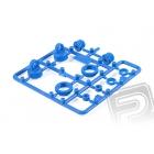10mm modré plastové díly tlumičů