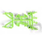 Přední/zadní díly rámu Green Monster