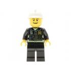 LEGO City hodiny s budíkem Fireman