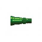 X-Maxx: Hřídel zadních kol zelený elox (1)