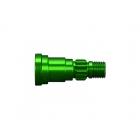 X-Maxx 8S: Hliníková hřídel kola zelená (1)