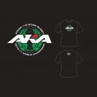 AKA IFMAR WORLD CHAMPIONS tričko černé (XL) - HANES TAGLESS