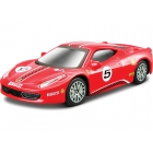 Bburago Ferrari 458 Challenge 1:43 červená